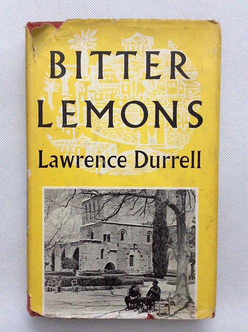 Bitter Lemons by Lawrence Durrell 1957
