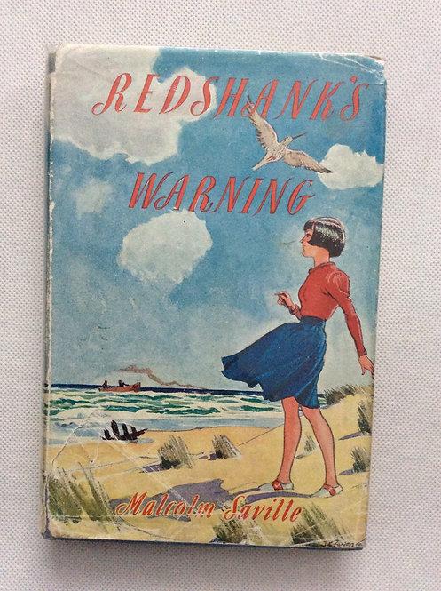 Redshanks's Warning by Malcolm Saville 1948