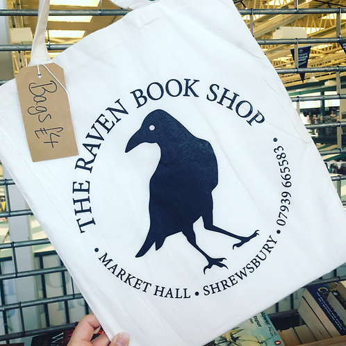 Raven Bookshop Tote Bag