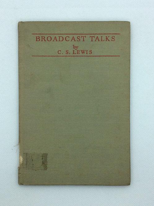 Broadcast Talks by CS Lewis 1943