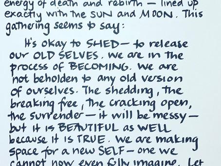 Moon Notes - January 12, New Moon in Capricorn