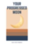Your Progressed Moon Digital Workbook by
