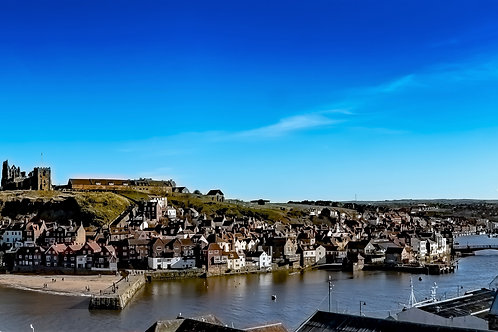A Spring Day at Whitby