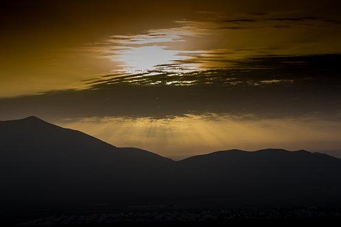 The Volcanic Sunrise
