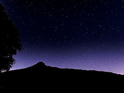 Roseberry Topping by Night