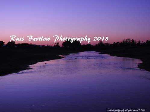 Purple river