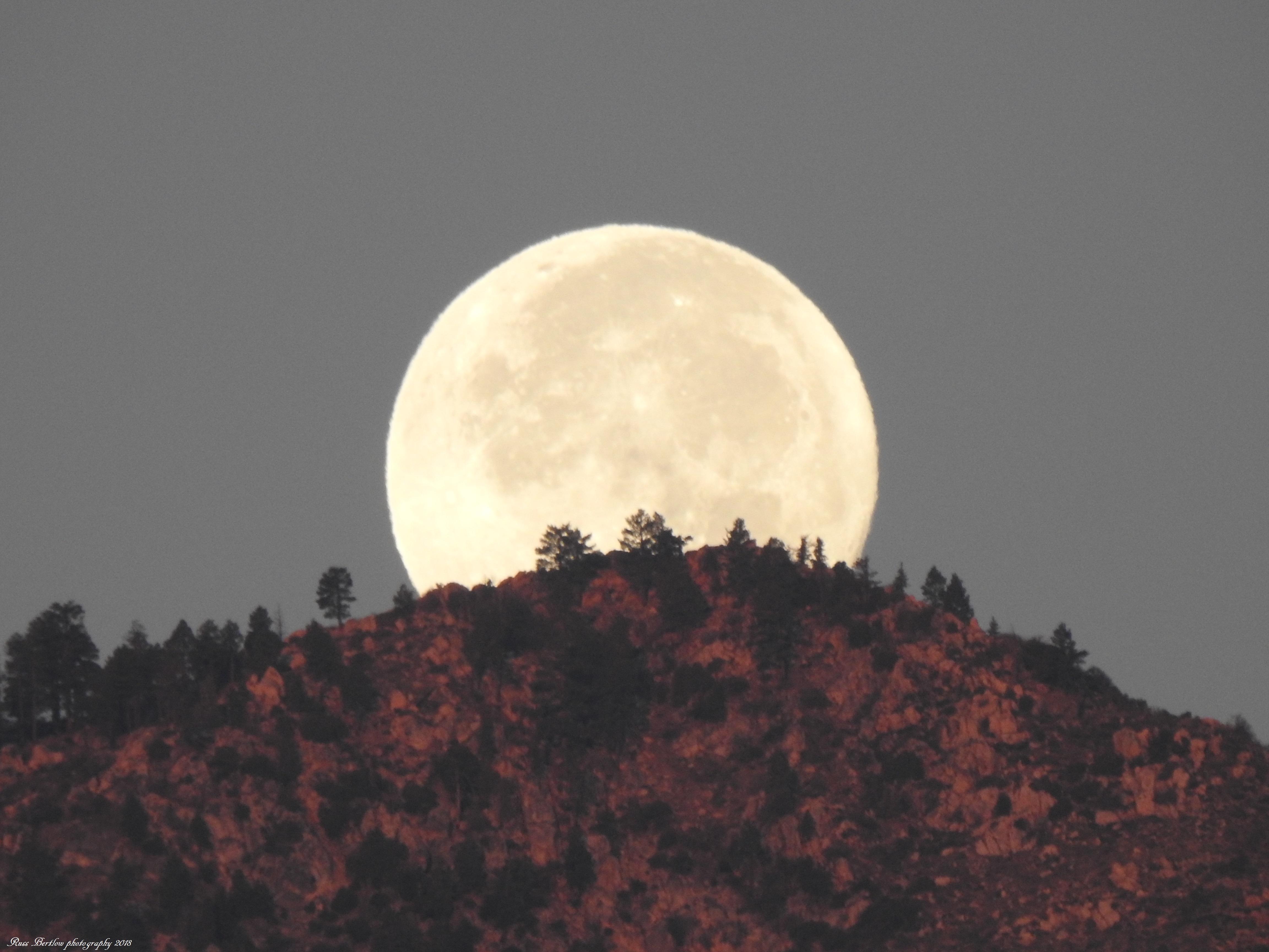Moon over Mt