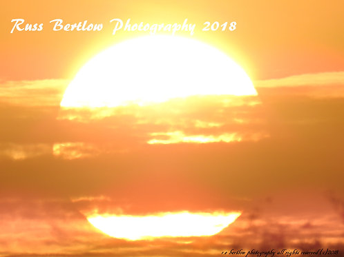 The radiant sun