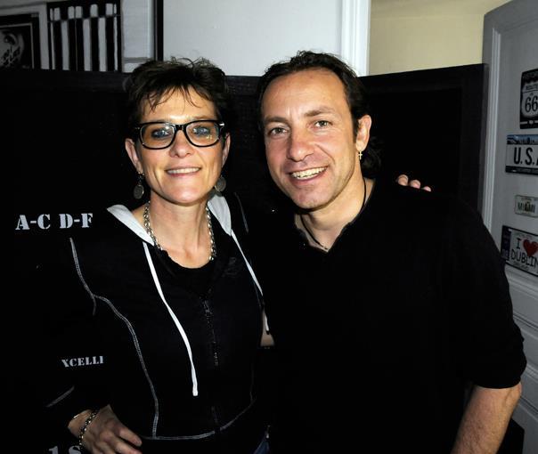 Philippe Candelero et Géraldine Potr