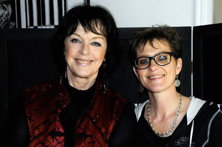 Anny Duperey et Géraldine Potron