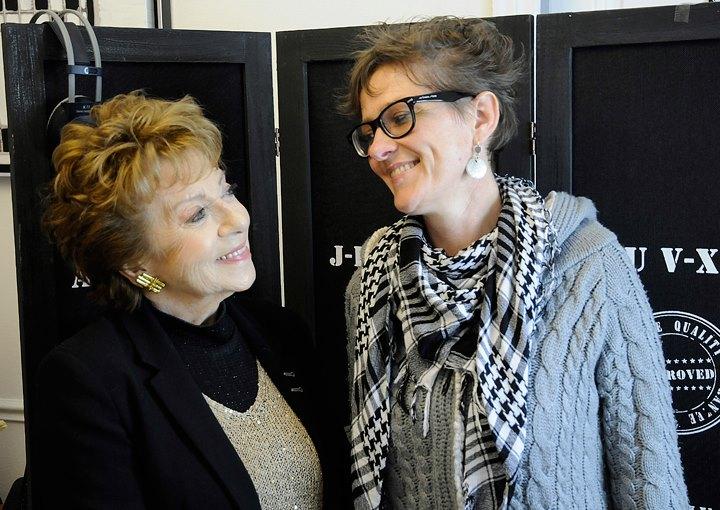 Marthe Mercadier et Géraldine Potron