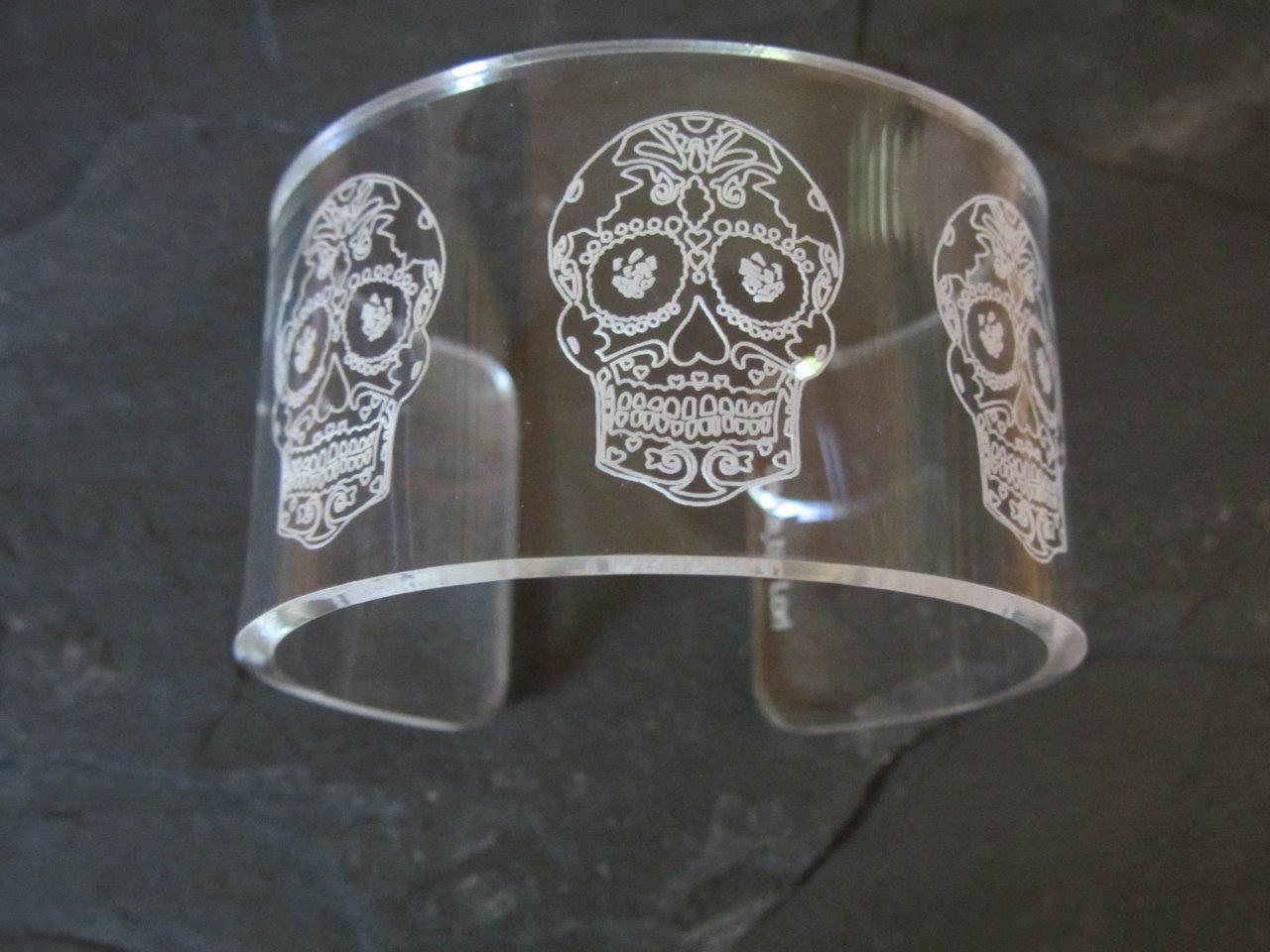 Sugar Skull Cuff