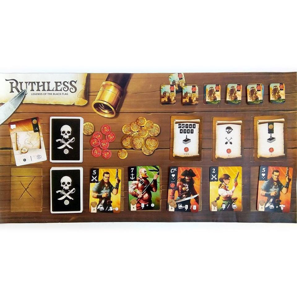 Ruthless Player Mat (Not included in the base game but it looks great!)