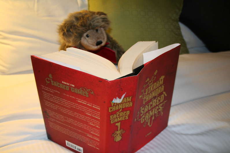 Stowie does not shy away from serious reading