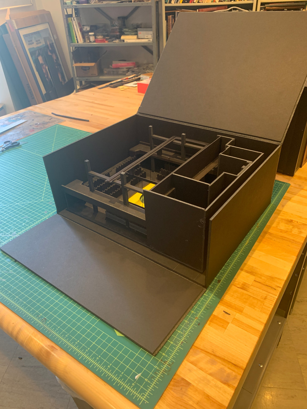 Hinged Model Box Travel Box