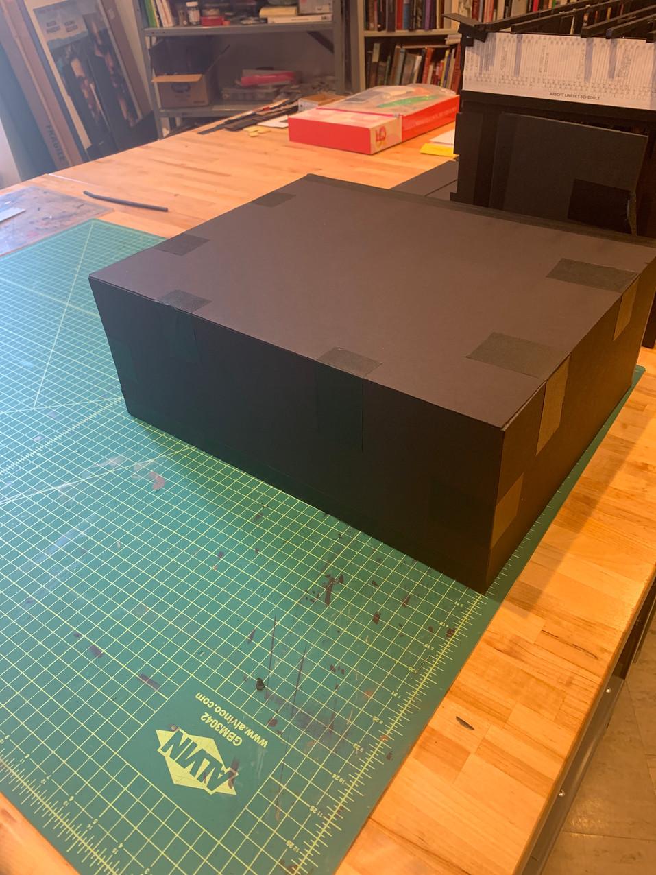 Closed Model Box Travel Box