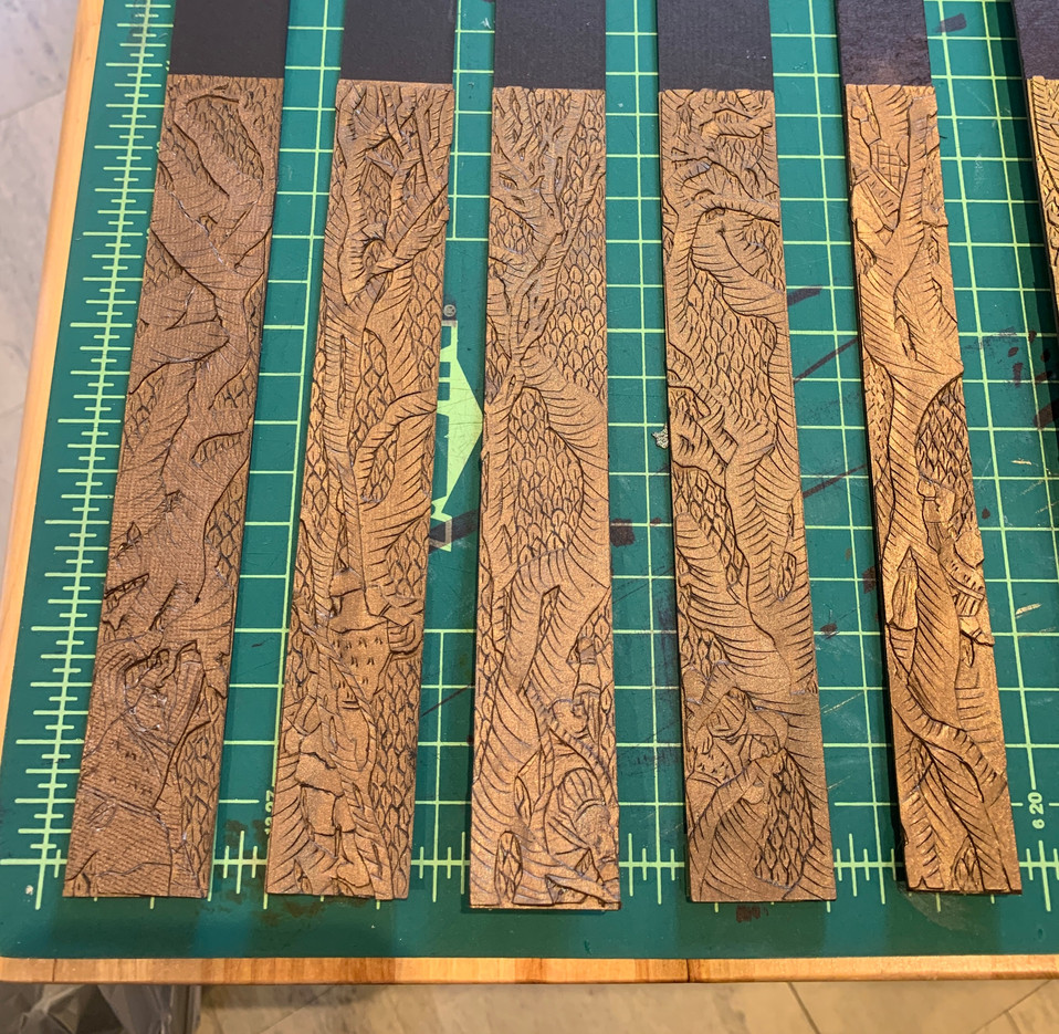 Tree Legs Model Pieces - 1/4""