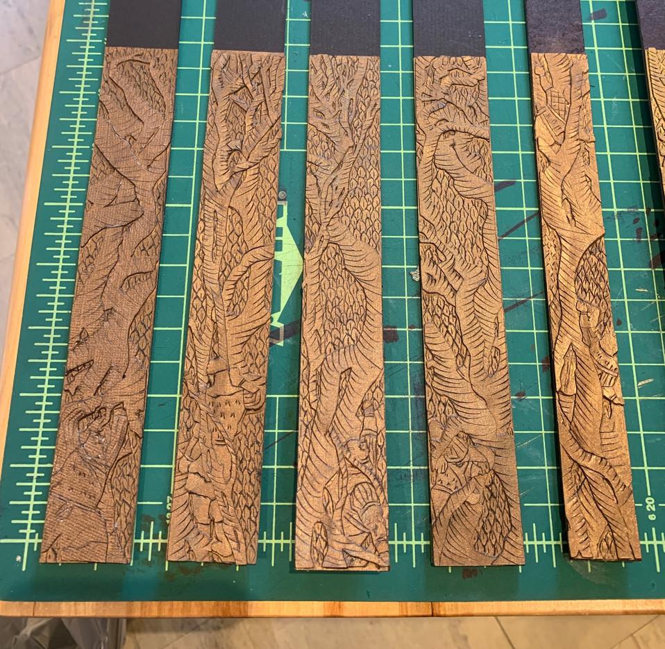 """Tree Legs Model Pieces - 1/4"""""""