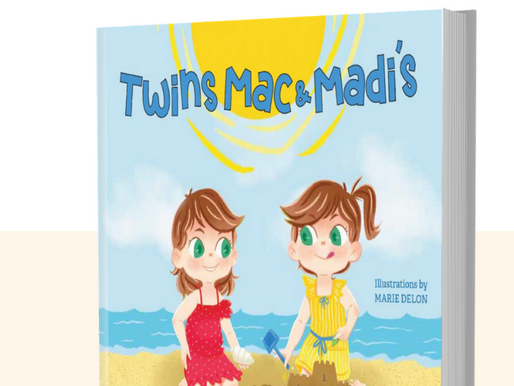 California Identical Twin Releases New Twin Children's Books with Light-Hearted Message