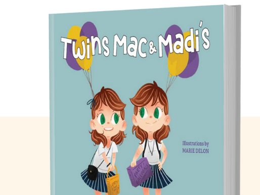New Children's Book Celebrating the Acceptance of Differences in Twins