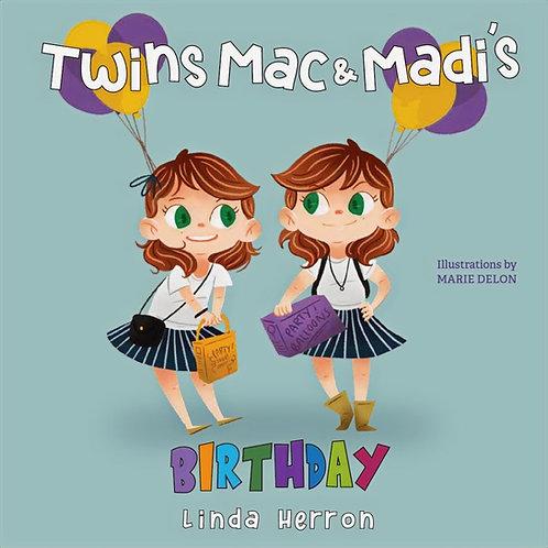 Twins Mac & Madi's Birthday