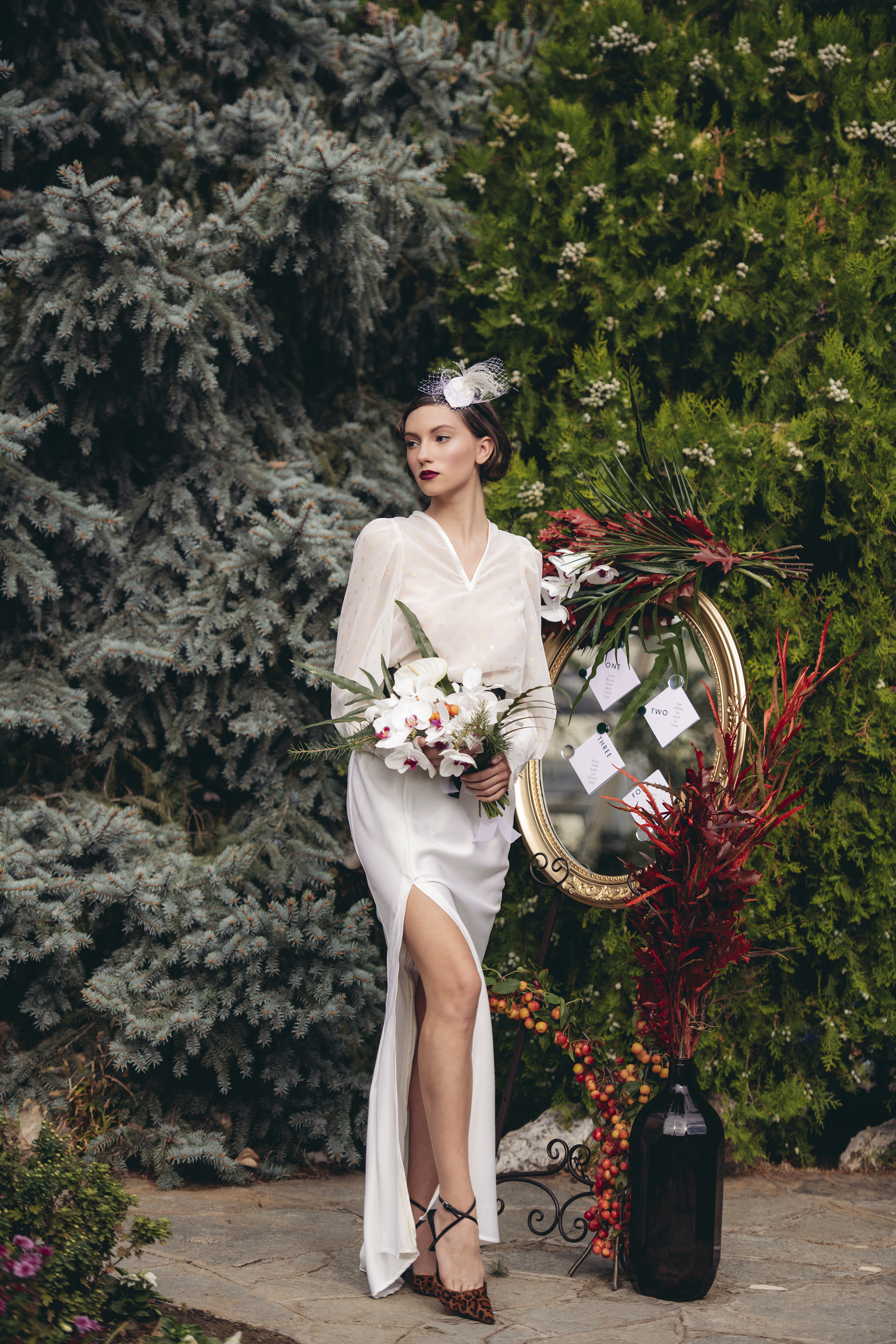 Old Hollywood inspired styled shoot