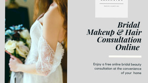 BRIDAL BEAUTY ONLINE CONSULTATION