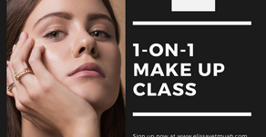 1-on-1 MAKEUP CLASS