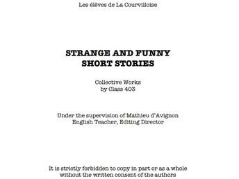 Livre collectif du groupe #43 de Mr. Mathieu d'Avignon, juin 2019