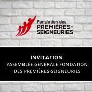 Assemblée générale extraordinaire de la Fondation des Premières-Seigneuries