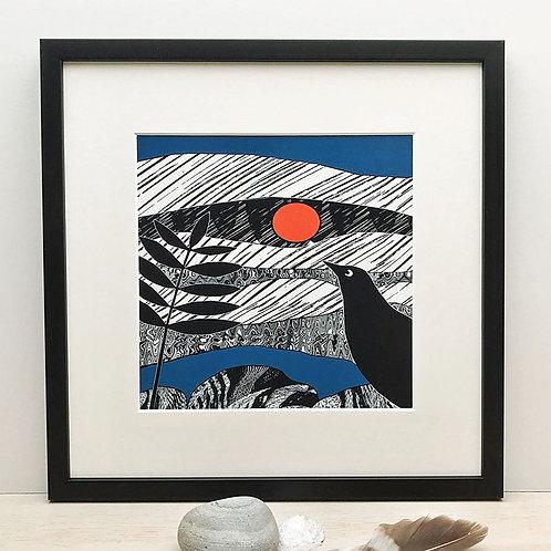 Blackbird by Denise Huddleston.