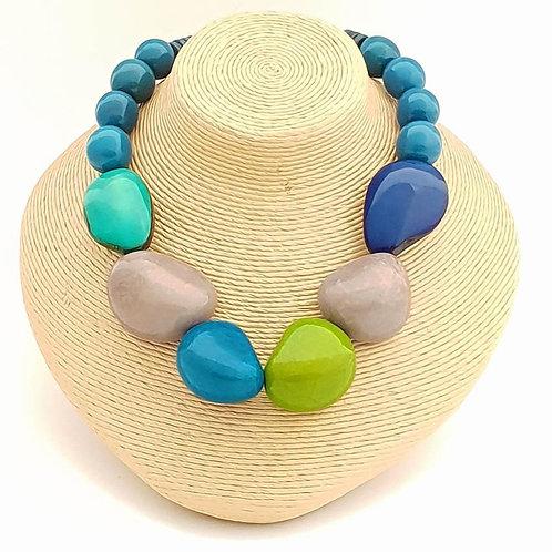 Marina Necklace- Blue