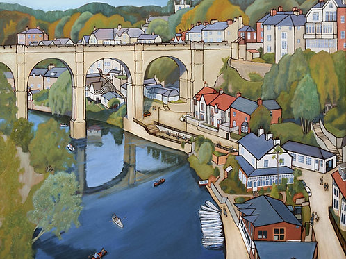 Early Autumn, Knaresborough by David Utting