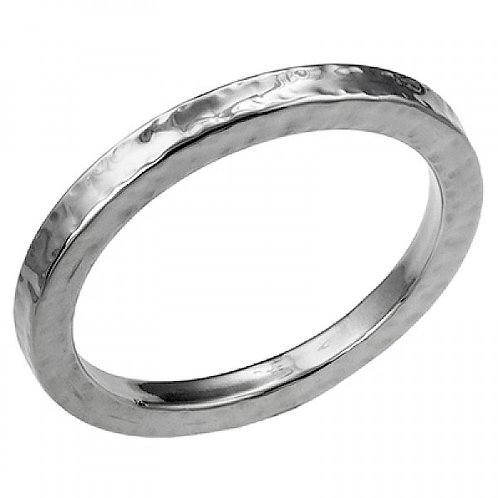 Solid Silver Statement Bangle