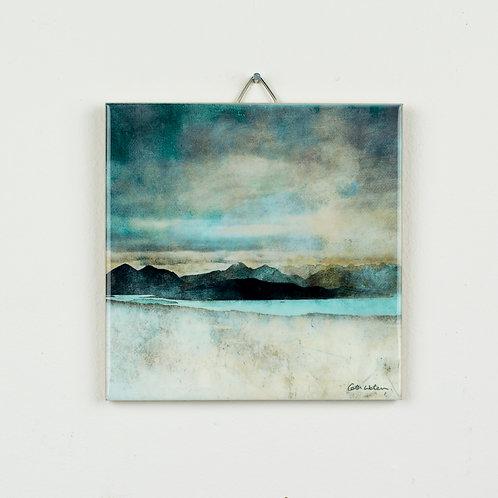 Skye from Beach Na Ba Applecross Hanging Tile