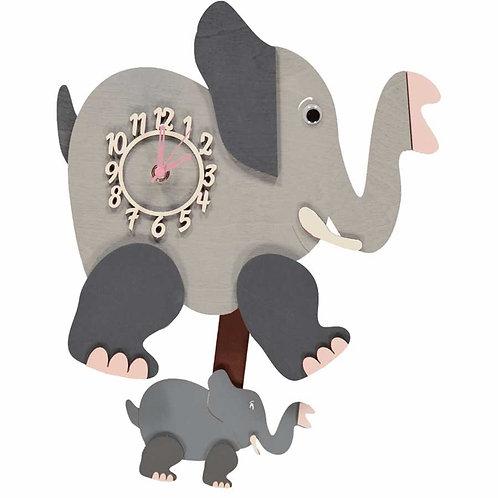 Elephant Pendulum Clock