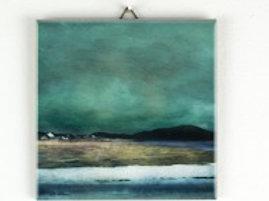 Salt Marshes, Isle of Harris Hanging Tile