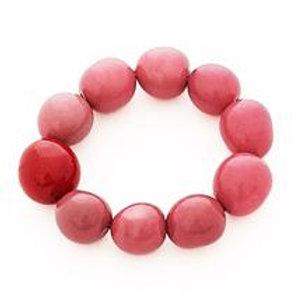 Cluster Bracelet- Pink