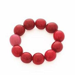 Cluster Bracelet- Red