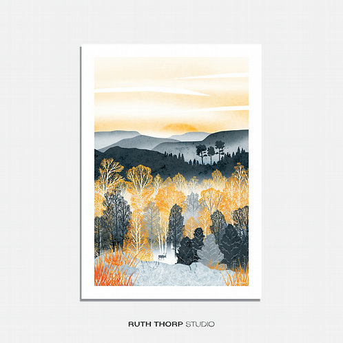 Golden Forest by Ruth Thorp