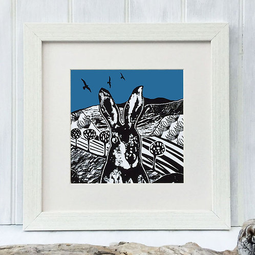 Croft Hare Blue by Denise Huddleston.