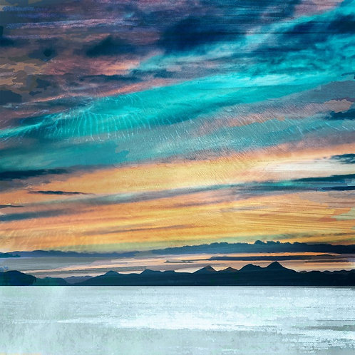 The Western Isles from Trotternish Isle of Style, by Cath Waters