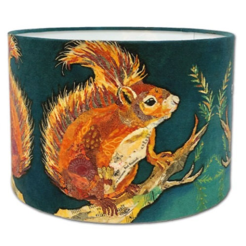 Wee Red Squirrel 20cm Table Lamp Fitting
