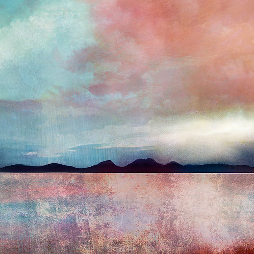 Jura from Mull of Kintyre by Cath Waters