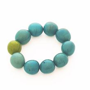 Cluster Bracelet- Light Blue