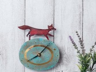 Fox Clock by Jill Stewart