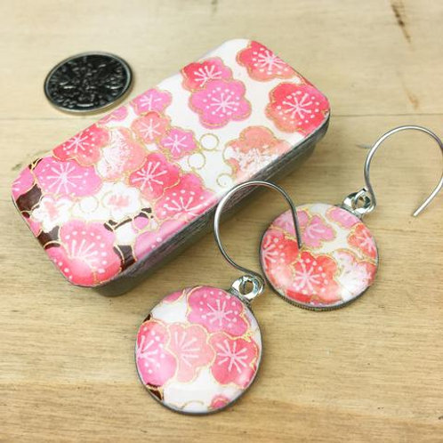 Sakura Pink Earrings