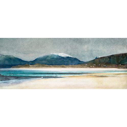 Winter Luskentyre, Isle of Harris, by Cath Waters