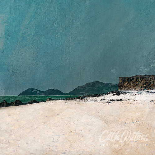 Harris from Carol Beach, by Cath Waters