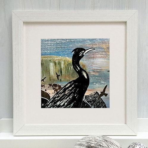 Cormorant by Denise Huddleston.